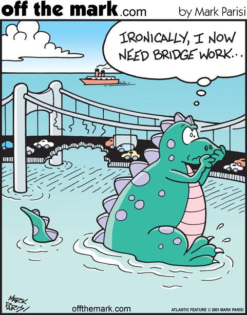 Off The Mark - emergency bridgework
