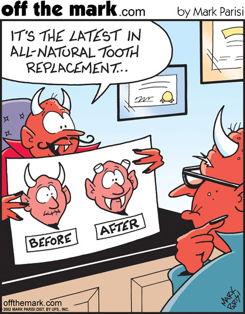Off The Mark - latest in tooth replacement