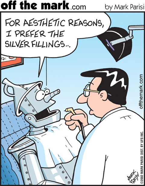 Off The Mark - Silver Filling