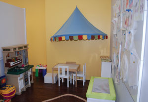 Child playroom